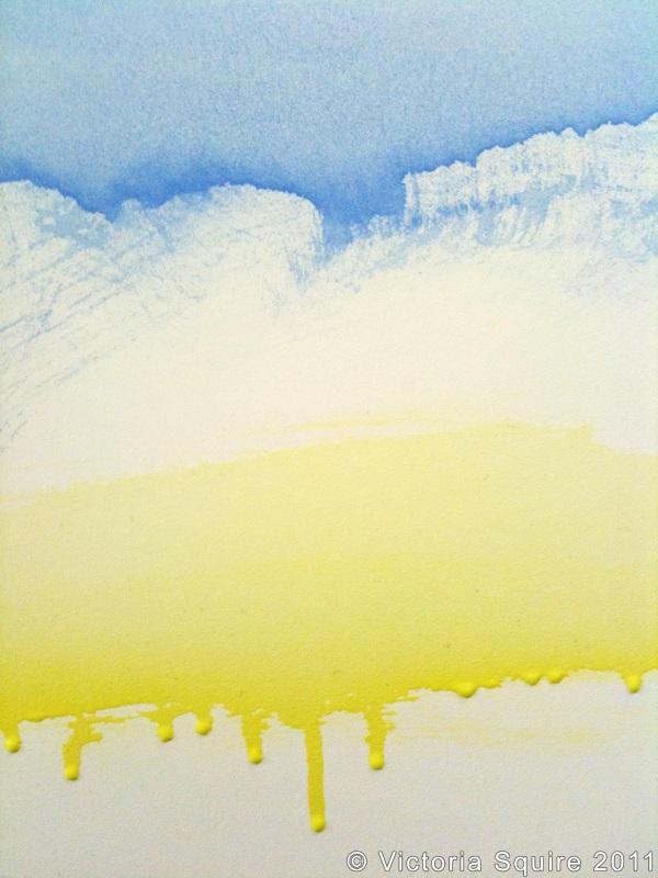 Acrylics on Pastelbord